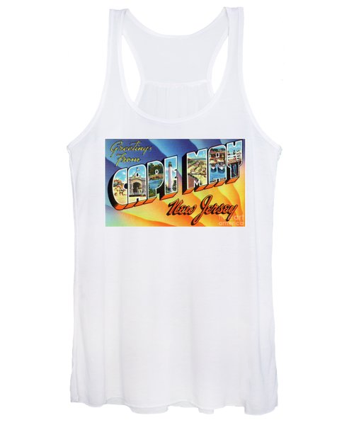 Cape May Greetings - Version 1 Women's Tank Top