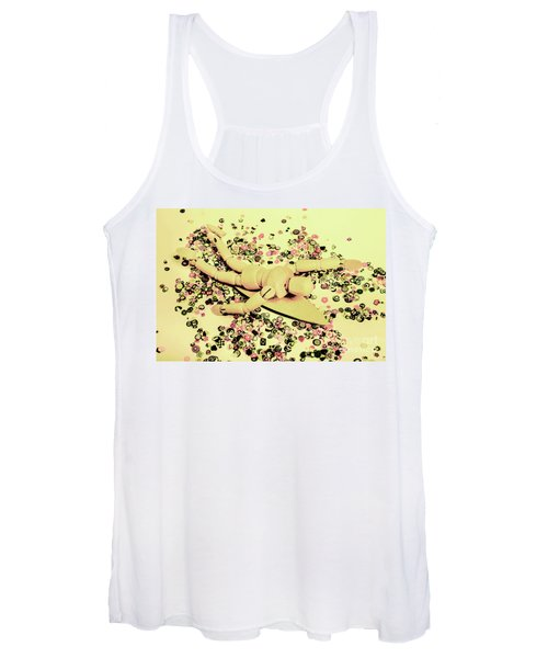 Carving Waves Women's Tank Top