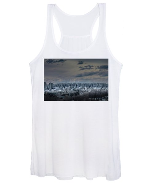 Central Park Winter Women's Tank Top