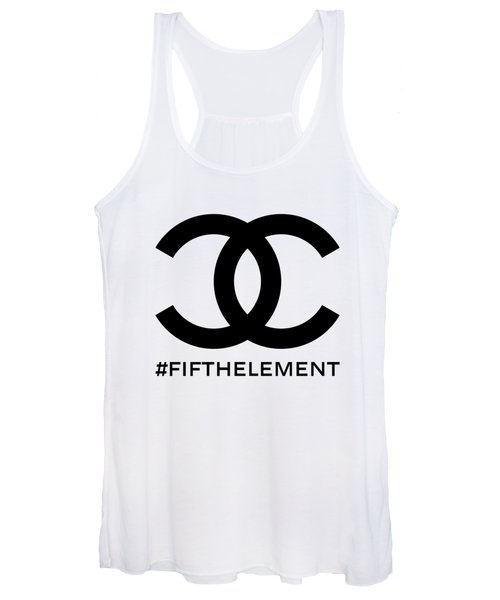Chanel Fifth Element-1 Women's Tank Top