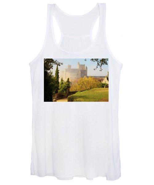 Chateau Beynac In The Mist Women's Tank Top