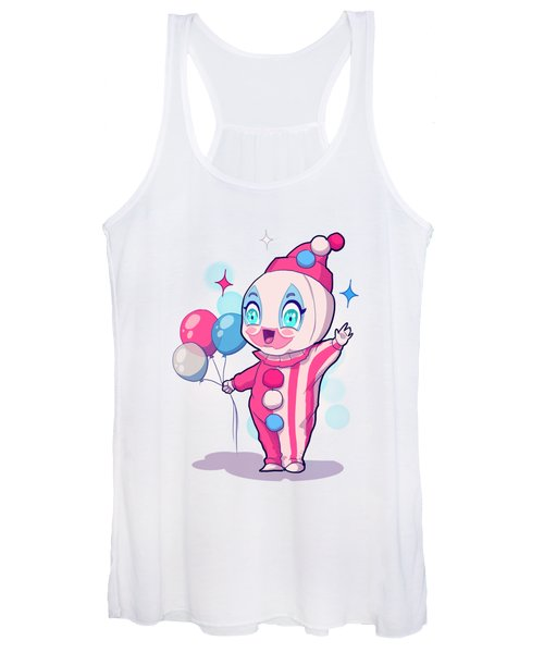 Chibi Pogo Women's Tank Top
