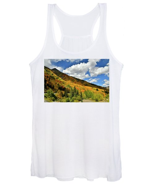 Color In The Spotlight At Red Mountain Pass Women's Tank Top