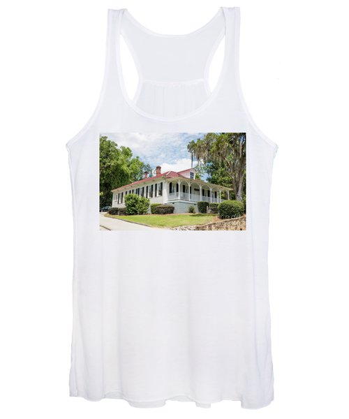Columbia County Visitors Center - Savannah Rapids Women's Tank Top