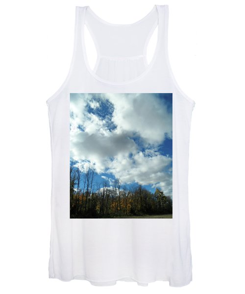 Country Autumn Curves 10 Women's Tank Top