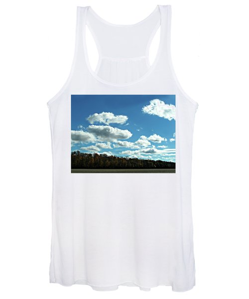 Country Autumn Curves 12 Women's Tank Top