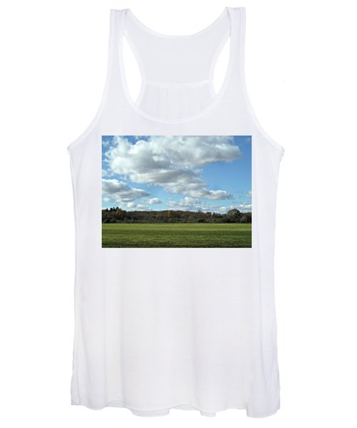 Country Autumn Curves 6 Women's Tank Top