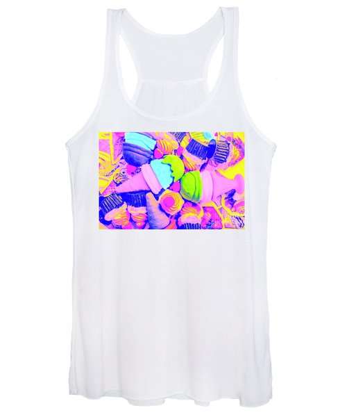 Creme De La Ice-cream Women's Tank Top