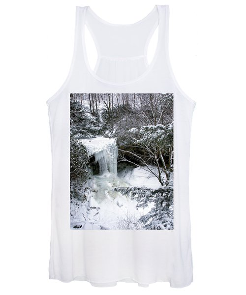 Cucumber In Winter Women's Tank Top
