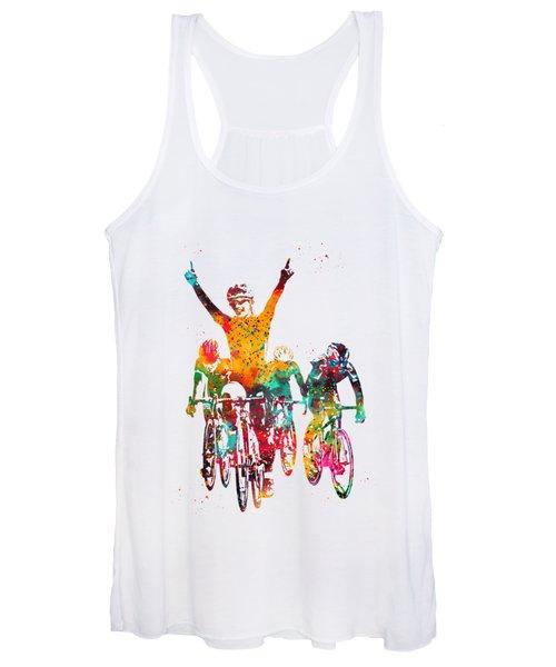 Cycling Race Women's Tank Top