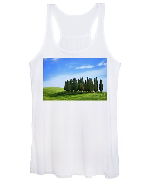 Cypress Stand Women's Tank Top