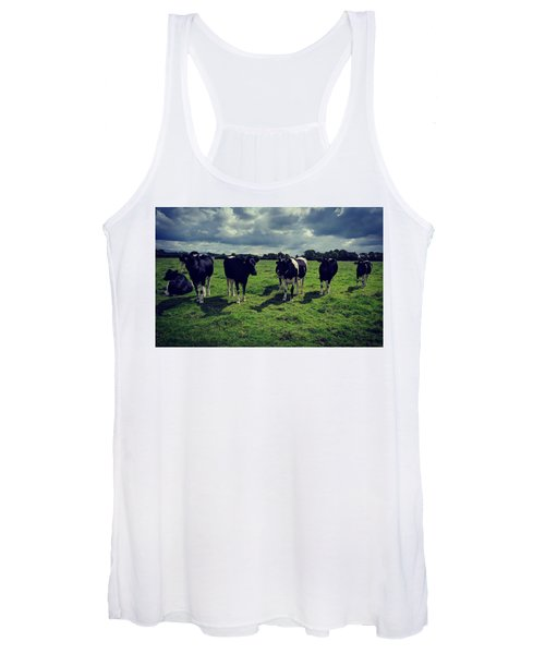 Dairy Heifers Women's Tank Top