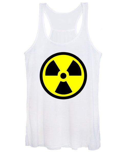 Danger Radiation Sign - Efb256 Women's Tank Top