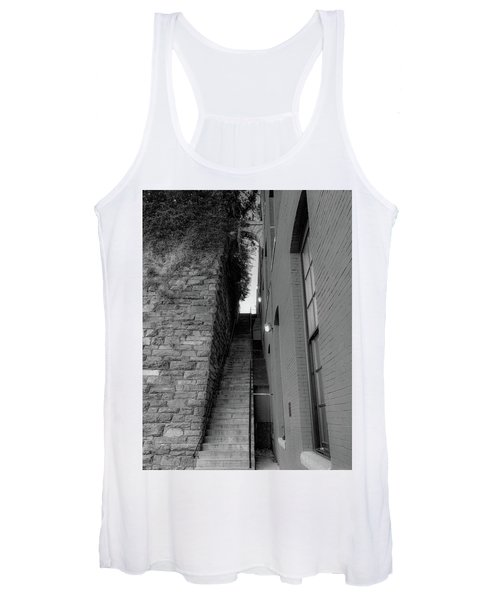Does Evil Lurk Above? Women's Tank Top