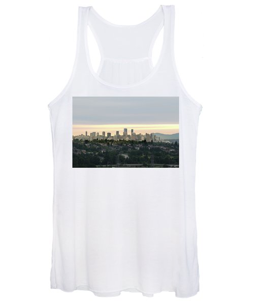 Downtown Sunset Women's Tank Top