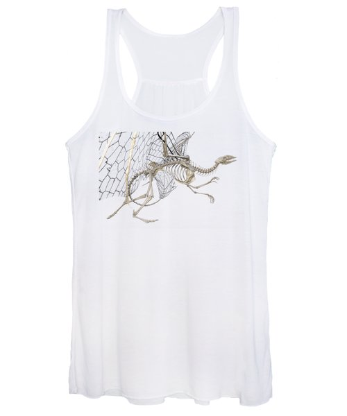 Dragon Skeleton  Women's Tank Top