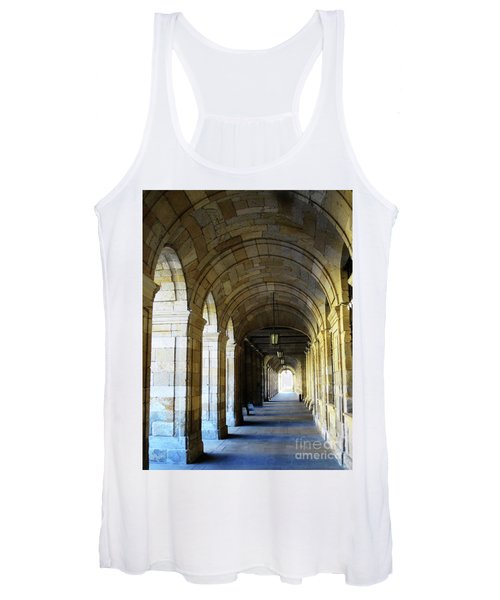 Women's Tank Top featuring the photograph Drawn To The Light by Rick Locke