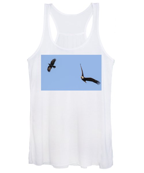 Eagle And Crow  Women's Tank Top