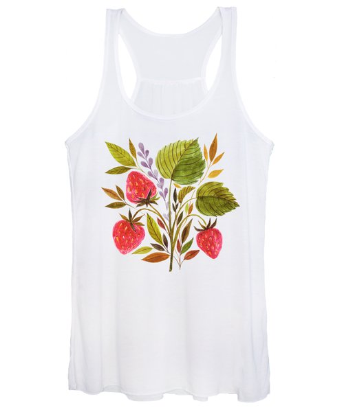 Early Summer Strawberries Are The Sweetest Women's Tank Top