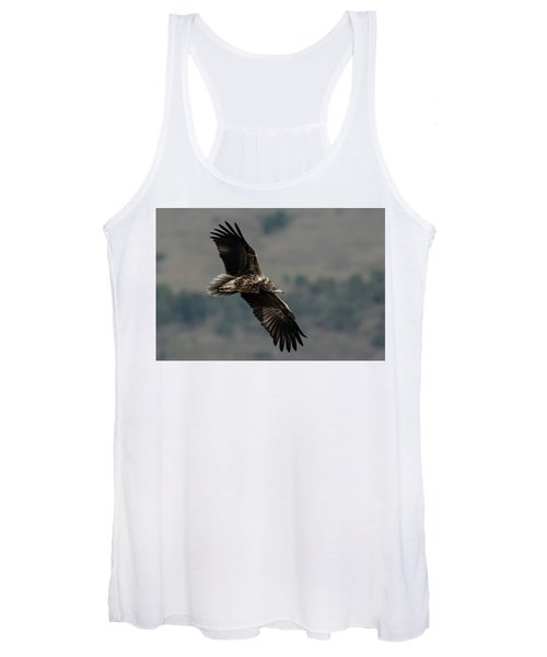Egyptian Vulture, Sub-adult Women's Tank Top