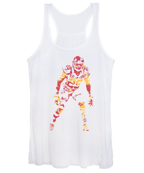 Eric Berry Kansas City Chiefs Apparel T Shirt Pixel Art 2 Women's Tank Top