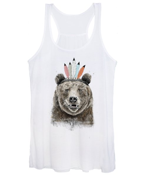 Festival Bear Women's Tank Top
