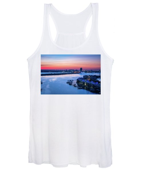 Firstlight Over Clearwater Women's Tank Top