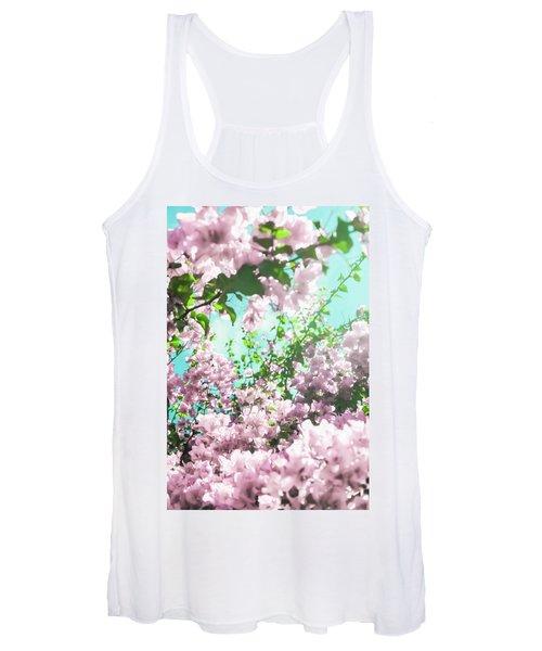 Floral Dreams Iv Women's Tank Top