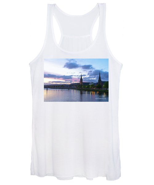 Flowing Down The River Ness Women's Tank Top