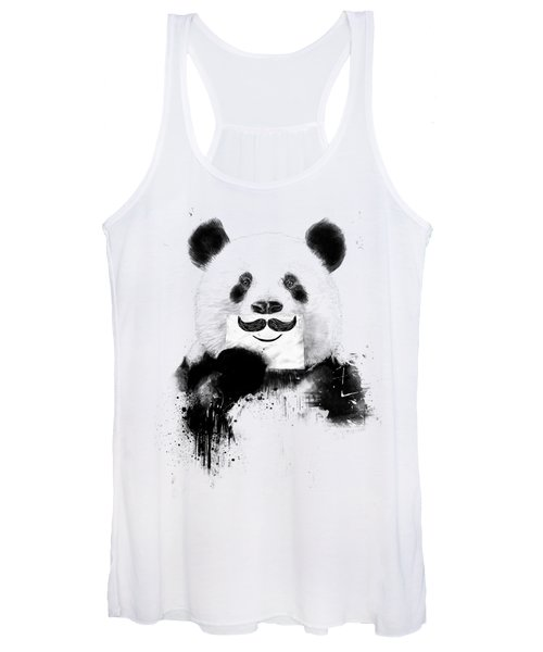 Funny Panda Women's Tank Top