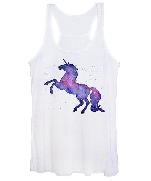 Galaxy Unicorn Women's Tank Top