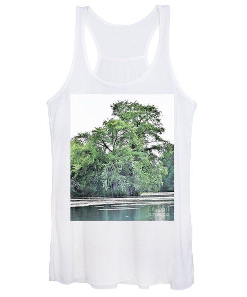 Giant River Tree Women's Tank Top