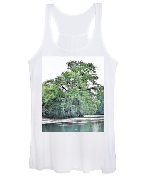 Giant River Tree Women's Tank Top