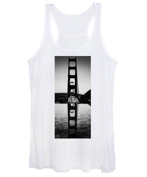 Golden Gate Reflection Women's Tank Top