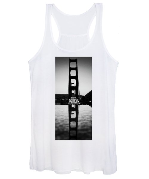 Golden Gate Reflection Women's Tank Top