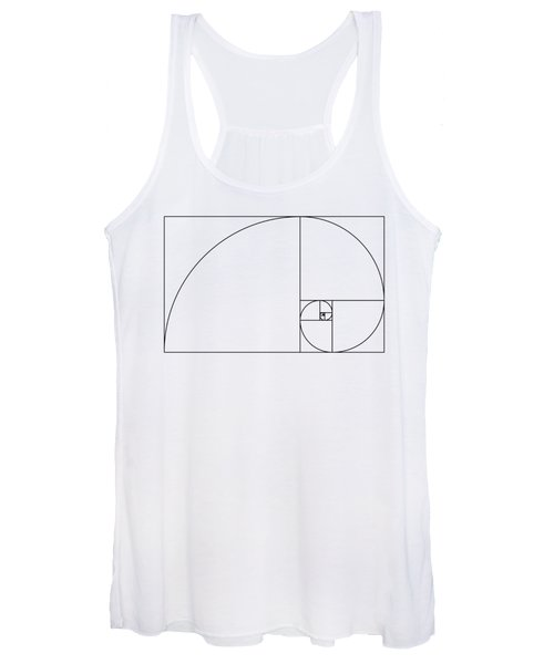 Golden Spiral Women's Tank Top
