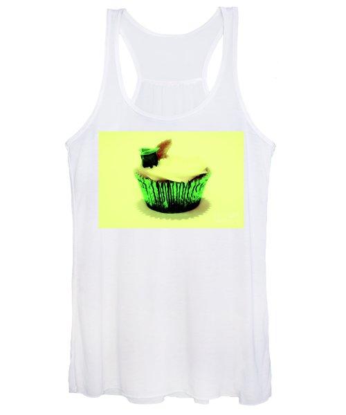 Green Cupcake Women's Tank Top