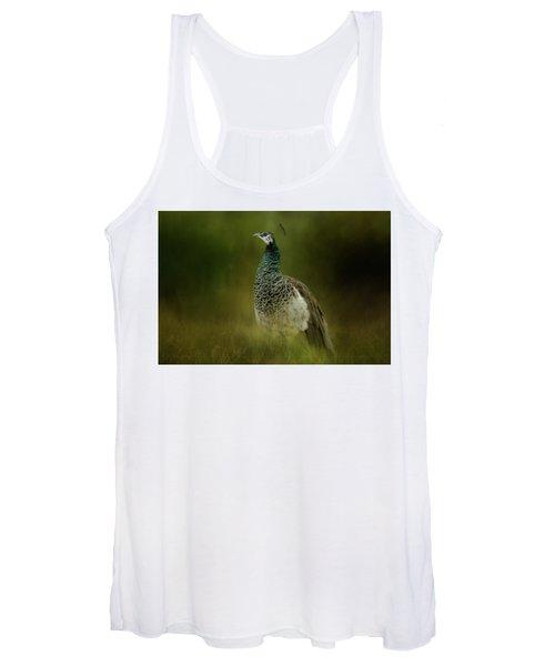 Green Gem In The Meadow  Women's Tank Top