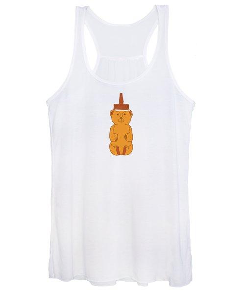 Happy Honey Bear Women's Tank Top