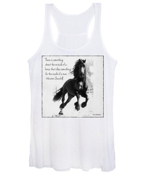 Horse's Profound Spirit  Women's Tank Top