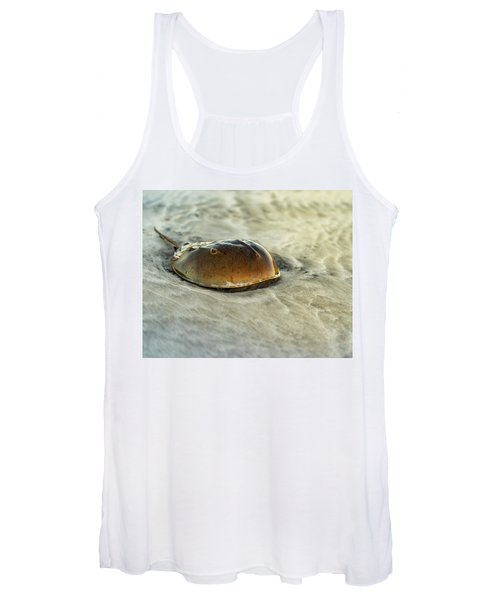 Horseshoe Crab On The Beach Women's Tank Top