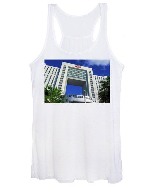 Hotel Riu Palace In Cancun Women's Tank Top