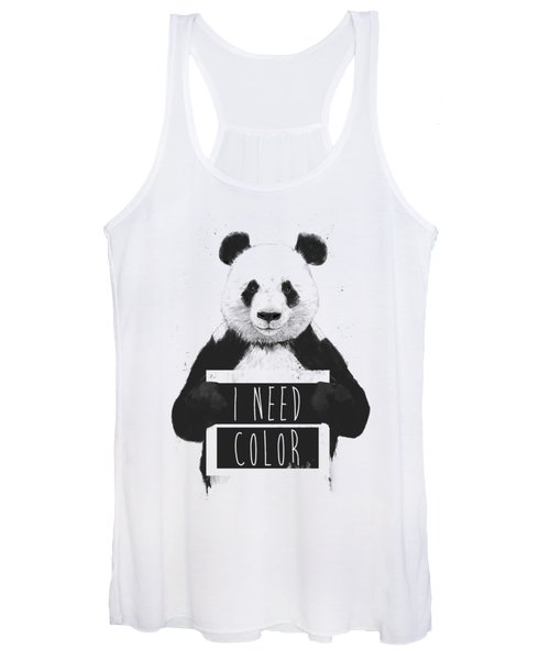 I Need Color Women's Tank Top