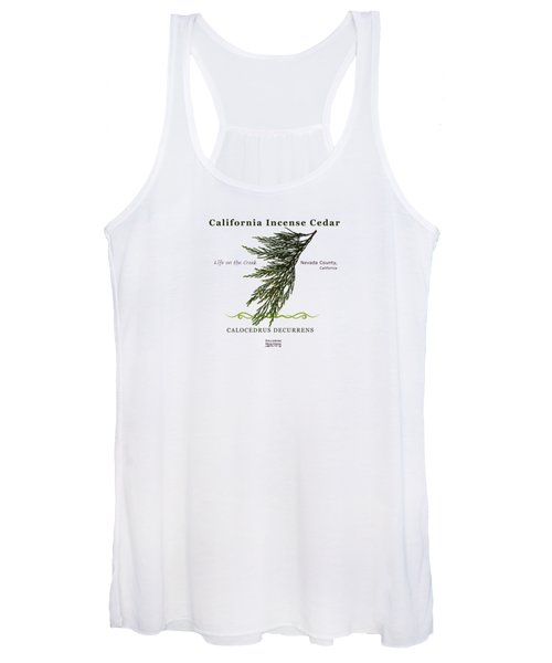 Incense Cedar - Brpwn Text Women's Tank Top