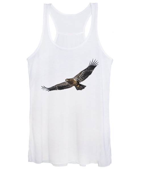 Isolated Bald Eagle 2018-3 Women's Tank Top