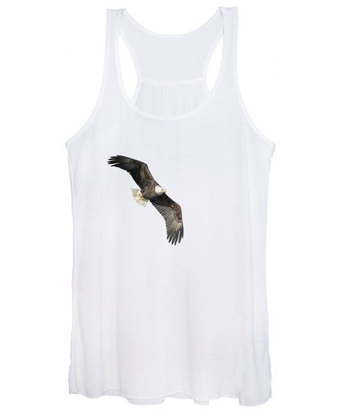 Isolated Bald Eagle 2018-4 Women's Tank Top