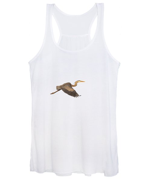 Isolated Great Blue Heron 2019-1 Women's Tank Top