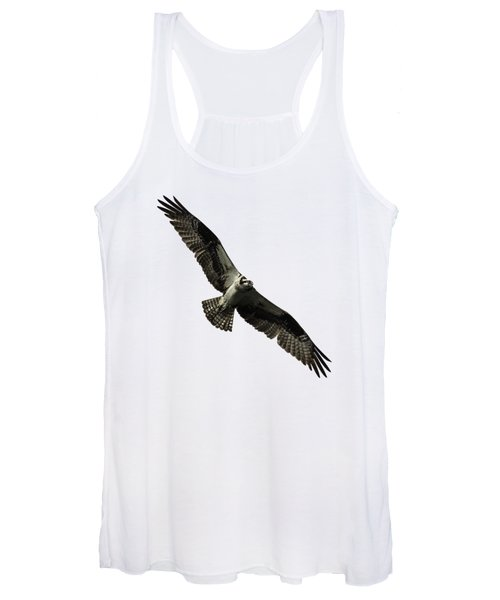 Isolated Osprey 2019-4 Women's Tank Top