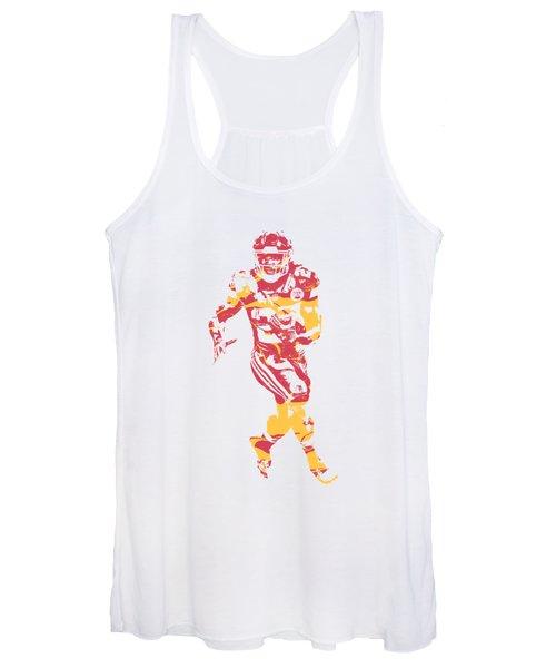 Kareem Hunt Kansas City Chiefs Apparel T Shirt Pixel Art 2 Women's Tank Top
