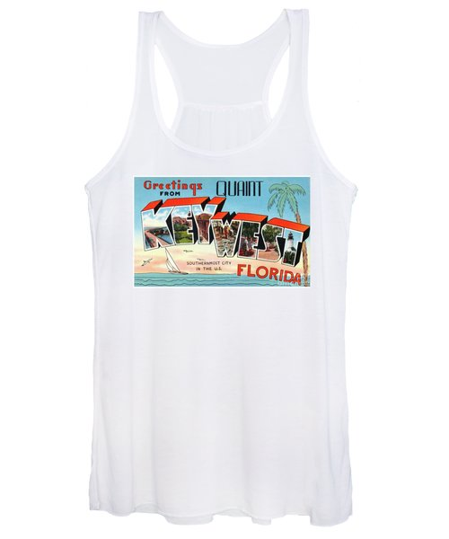 Key West Greetings Women's Tank Top